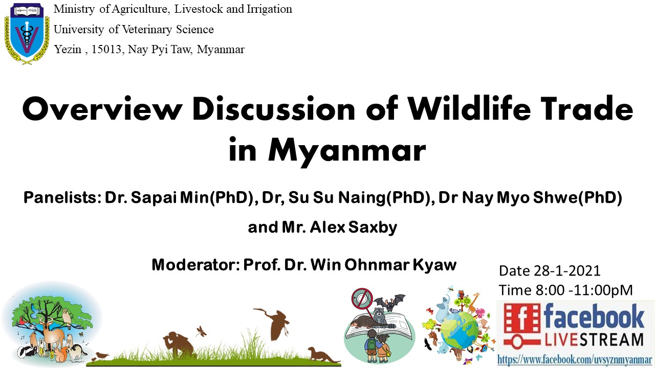 Overview Discussion of Wildlife Trade in Myanmar